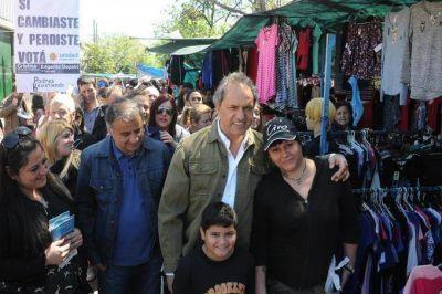 """Scioli: """"Votar a Unidad Ciudadana garantiza la defensa de los trabajadores"""""""