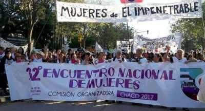 Con casi 60 mil asistentes, se desarrolló la segunda jornada del 32° Encuentro Nacional de Mujeres