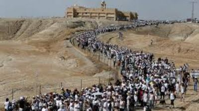 Marcha de mujeres israelíes y palestinas por la paz