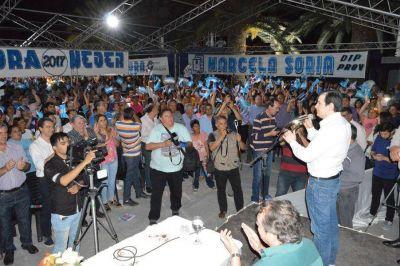 El senador Zamora participó de un plenario en la ciudad de Añatuya