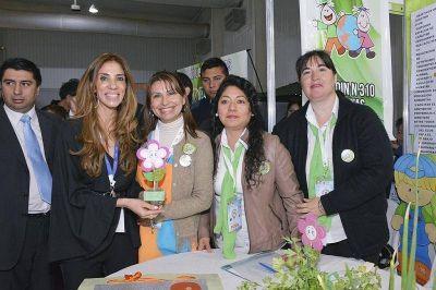 La Gobernadora visitó la XIV Feria Provincial de Ciencia y Tecnología en el Nodo Tecnológico