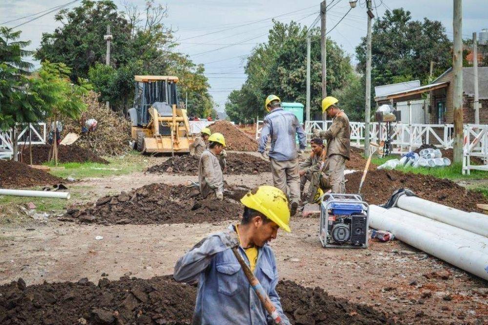ABSA invierte 12 millones en red de cloacas de San Vicente