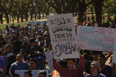 Se festejó la Fiesta de la Vida en el Parque Independencia
