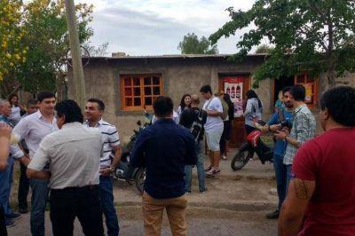 En el Día de la Lealtad, los candidatos del Frente Todos fueron a Chimbas