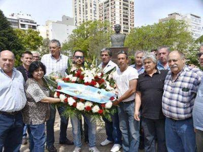 La CGT Regional Mar del Plata conmemoró el 17 de Octubre y a Juan Domingo Perón