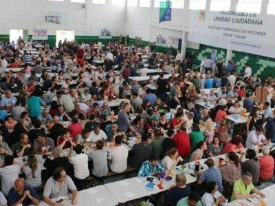 Multitudinario festejo en Smata del Día de la Lealtad peronista en Mar del Plata