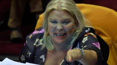 Elisa Carrió volvió a desbarrancar con el caso Santiago Maldonado