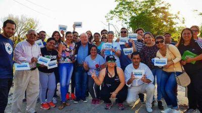Busti hizo campaña en Paraná pegándole al municipio
