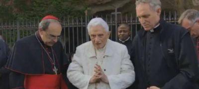 No hay motivos para la alarma por la salud de Benedicto XVI