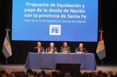 Deuda de coparticipación: Santa Fe formaliza su planteo en la Corte