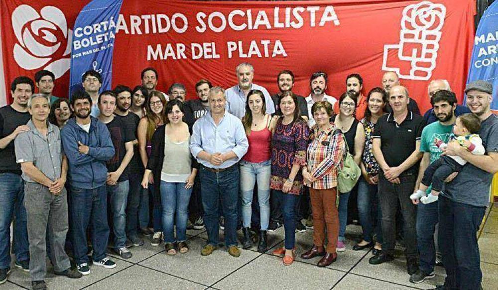 Desde el histórico socialismo convocan a cortar boleta y votar a Acción Marplatense