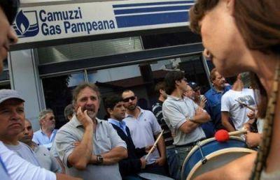 Trabajadores de Camuzzi se encuentran en estado de alerta por varios reclamos