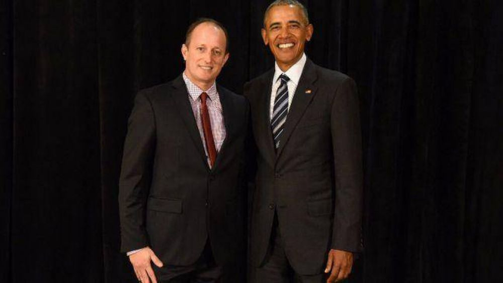 Insaurralde compartió la Cumbre Verde con Obama