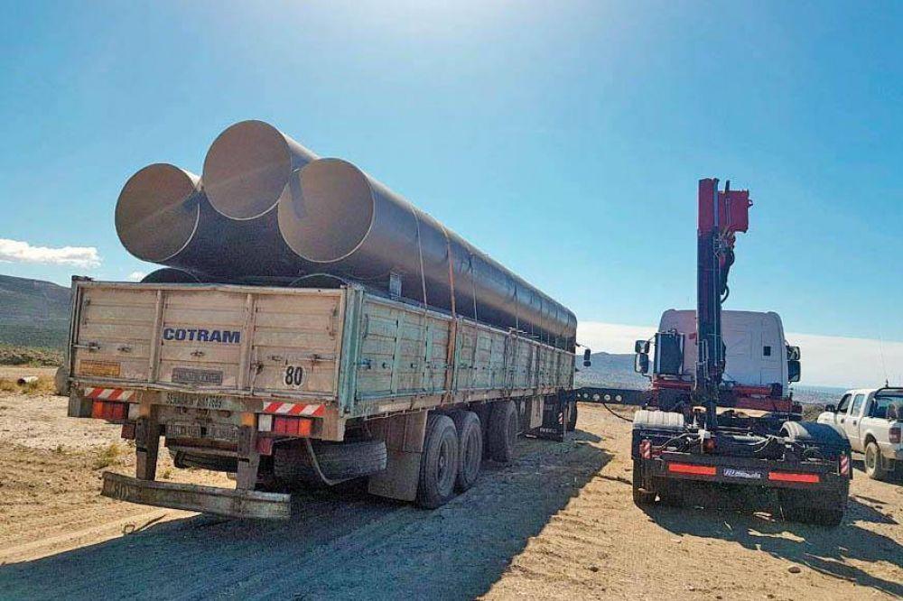 Nueva partida de materiales del ENOHSA para reparar acueductos