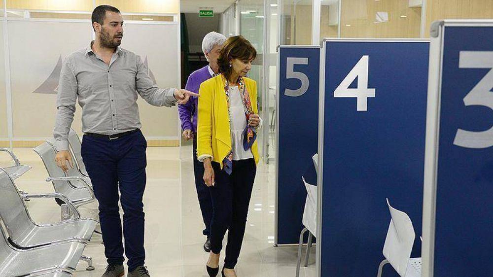 Luis y Alicia Andreotti supervisaron la renovación total de la Secretaría de Economía