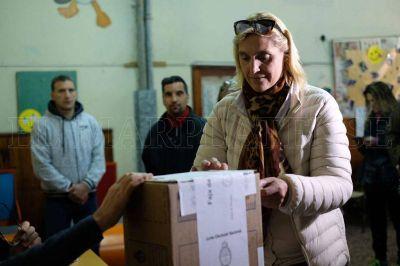 Baragiola confía en que ya haya resultados de las elecciones a las 20