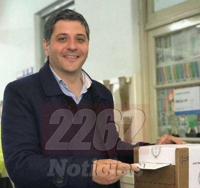 """Votó Diego López Rodríguez """"Estamos bien y creo que vamos a hacer una buena elección"""""""