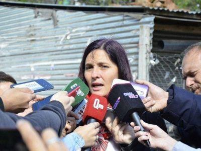 """Luana Simioni emitió su voto: """"El gobierno tiene que explicar estos 80 días de desaparición forzada"""""""