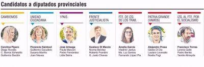 Votan los principales candidatos platenses a diputados provinciales