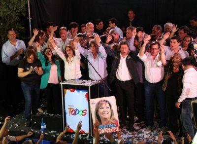 El frente de Uñac consolidó su poder y superó su marca de 2015