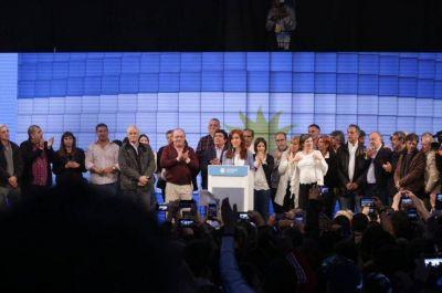 Cristina reconoció la derrota y dio un discurso de cara al 2019: