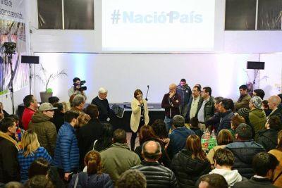 Andreotti le dio la única alegría al massismo en el Conurbano