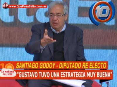 Godoy felicitó a Sáenz por su estrategia de campaña: