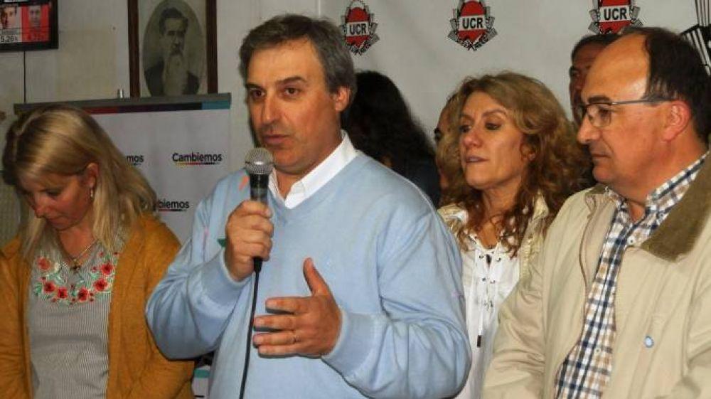 Macagno: Estoy contento porque la ciudadanía le ha dado un respaldo categórico a la gestión que encabeza José Luis Salomón