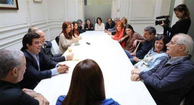 Cristina comenzó a definir estrategia legislativa con sus diputados electos