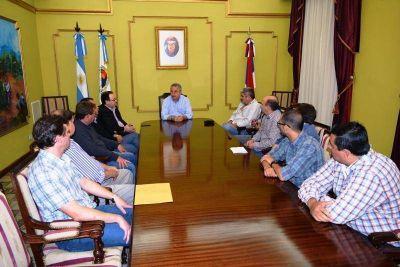 Tras las elecciones, Passalacqua desarrolló una mesa de trabajo con intendentes