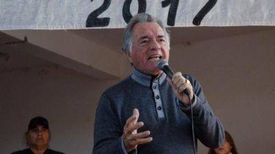 Luis Barrionuevo adelantó que quiere ser gobernador en el 2019