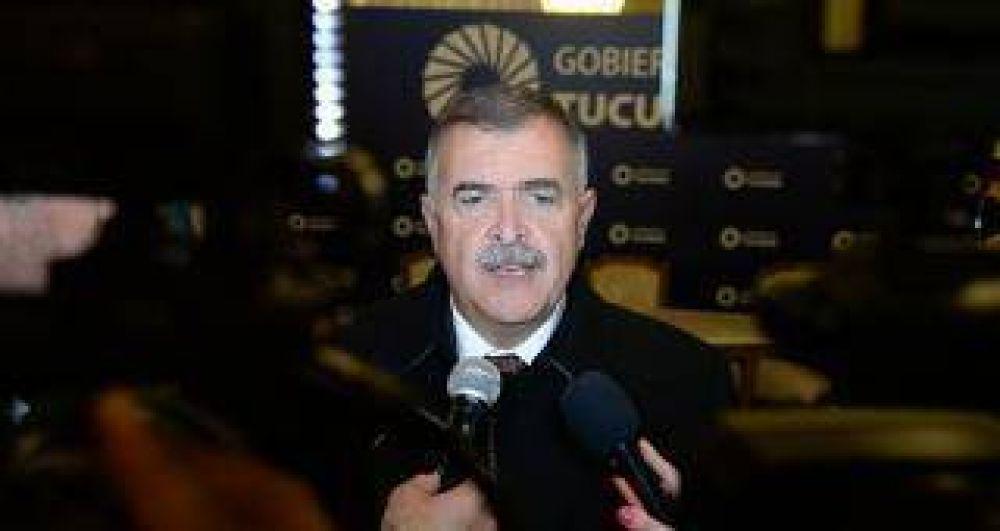 """Jaldo: """"No habrá reforma constitucional hasta el 2019"""""""