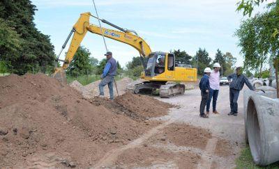 Finalizó la pavimentación en el barrio Facundo Quiroga II
