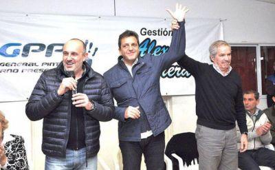 En el medio de la decadencia massista, sólo 3 distritos pudieron hacer crecer a Massa por arriba de los 8 puntos
