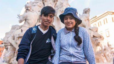 Sandra y Nahuel: de San Antonio de los Cobres hasta Roma para abrazar al Papa