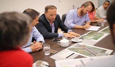 Municipio y Nación coordinaron operativo especial para los trabajos