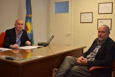 Rodríguez y Spina se reunieron para impulsar las oportunidades locales en el desarrollo de energías renovables