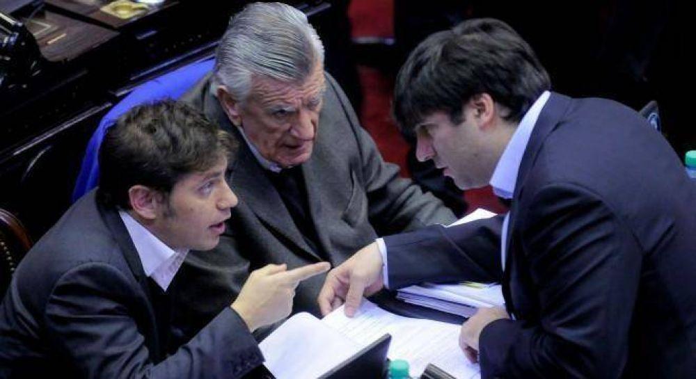 Insfrán y Gioja gestionan la unidad peronista en el Congreso, pero chocan con la resistencia a Cristina