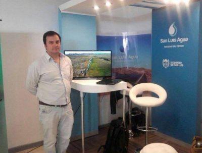 San Luis Agua presentará el modelo hídrico provincial en la Exposición Internacional Agua y Desarrollo