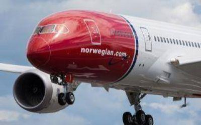 Norwegian Argentina obtuvo licencia para volar desde y hacia Mar del Plata y Bahía Blanca