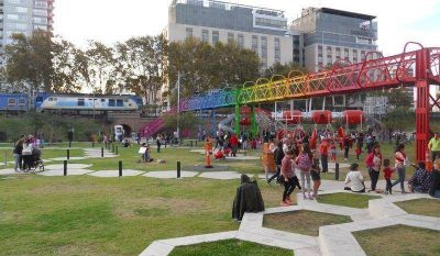 La Ciudad con 19 hectáreas más de espacios verdes