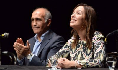 Vidal le deja a la UCR la presidencia del bloque Cambiemos en Diputados