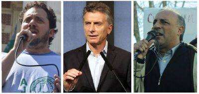 Los gremios responden a Macri: