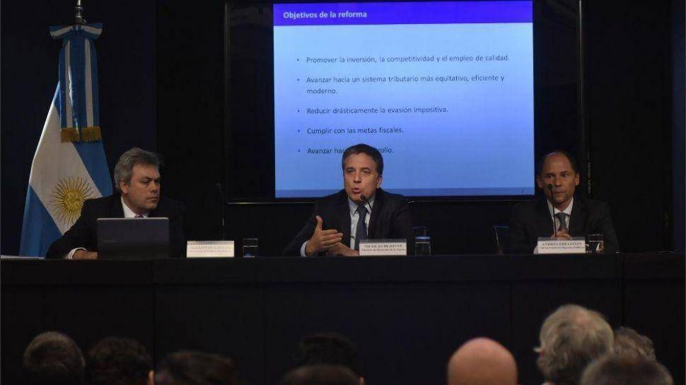 La reforma tributaria baja la presión impositiva sobre empresas y sube a familias