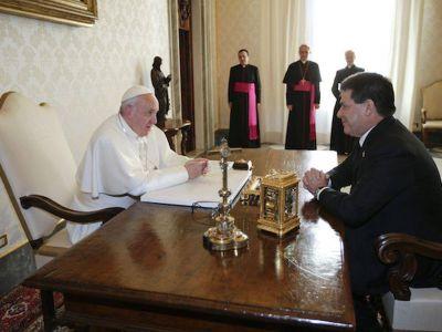 El Papa recibirá a Cartes en el Vaticano el 9 de noviembre