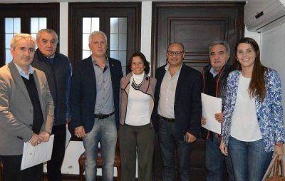 Teijeiro participó de la presentación de la expo Balcarce