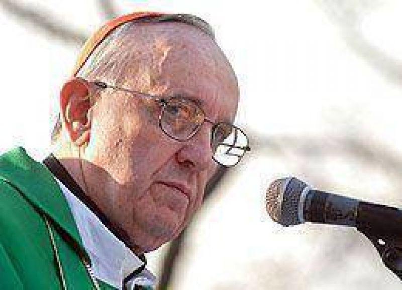 """Bergoglio: """"La peor enfermedad es homogenizar el pensamiento"""""""
