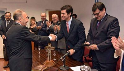 El Gobernador Urtubey participó de la asunción del nuevo juez federal de Tartagal
