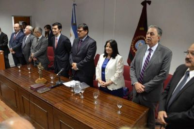 Rodolfo Urtubey destacó la importancia del Juzgado Federal de Tartagal