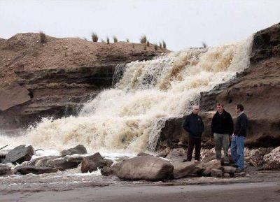 Con el agua al cuello, Necochea entró en la Emergencia Hídrica